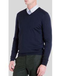 Ted Baker Babel Merino Sweater - Lyst