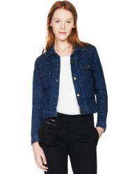 Current/Elliott The Denim Jean Jacket - Lyst
