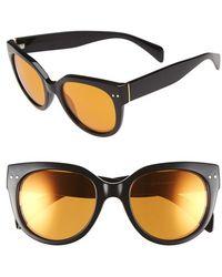 Fantaseyes | 55mm Cat Eye Sunglasses | Lyst