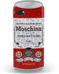Moschino Hard Case For Iphone 5 5S red - Lyst