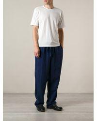 Issey Miyake Round Neck Tshirt - Lyst