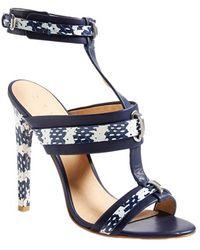 L.A.M.B. 'Bradley' T-Strap Sandal blue - Lyst