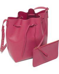 Mansur Gavriel | Calf Bucket Bag | Lyst