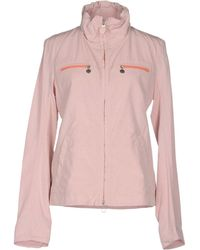 Geospirit Jacket pink - Lyst