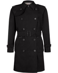 Aquascutum Corby Formal Double Breasted Raincoat - Lyst