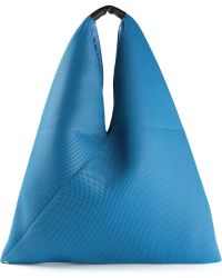 Mm6 By Maison Martin Margiela Triangle Shape Tote - Lyst