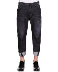 DSquared2 Workwear Black Faded Jeans - Lyst