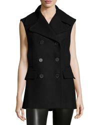 Risto - Double-Breasted Slim-Fit Vest - Lyst