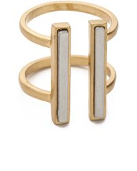 Madewell - Double Time Ring - Lyst