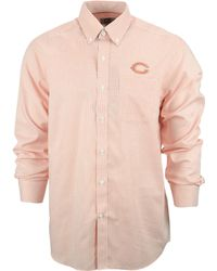 Cutter & Buck Men'S Chicago Bears Tattersall Dress Shirt - Lyst