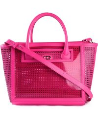 Dee Ocleppo - 'the Roma' Perforated Tote - Lyst