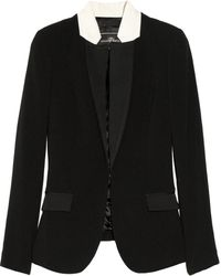 By Malene Birger Taifas Stretch Crepe Blazer - Lyst