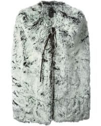 Bernhard Willhelm - Faux Fur Coat - Lyst