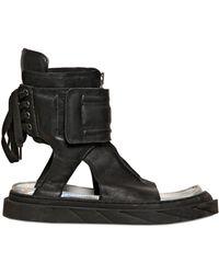 D.gnak Leather Sandals - Lyst