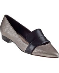 10 Crosby Derek Lam Audrey Loafer Smog Leather - Lyst