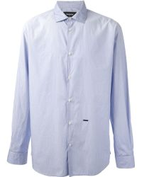 DSquared2 Fine Stripe Shirt - Lyst