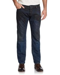 DSquared2 Slim Oil Wash Jeans - Lyst
