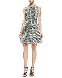 Opening Ceremony Wavy Cross Panel Dress - Lyst