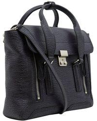 3.1 Phillip Lim - Medium Dark Purple Pashli Leather Bag - Lyst