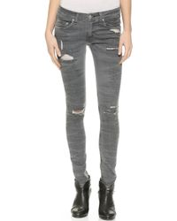 Rag & Bone The Skinny Jeans - Sandbanks - Lyst