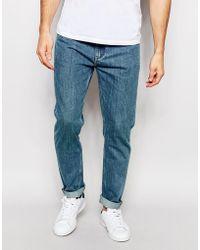 ADPT - Vintage Wash Jeans In Slim Anti Fit - Lyst