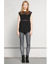 Rag & Bone Gray Lawson Legging - Lyst