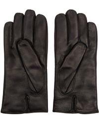 Want Les Essentiels De La Vie - Black Quilted Leather Dumas Gloves - Lyst