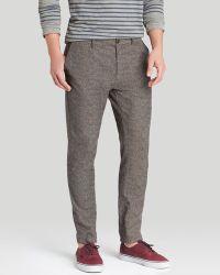 Scotch & Soda Cotton Trousers - Slim Fit - Lyst
