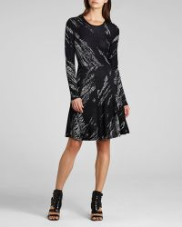 BCBGMAXAZRIA Bcbg Max Azria Dress Jillian Crackled Jacquard - Lyst