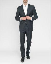 Hackett Grey Plain 120 Suit gray - Lyst