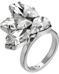 Mews London - Crystal Fan Ring A - Lyst