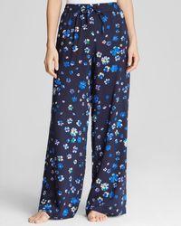 DKNY Floral Pajama Pants - Lyst