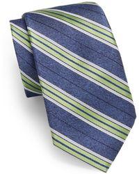 Samuelsohn - Locarno Striped Silk Tie - Lyst