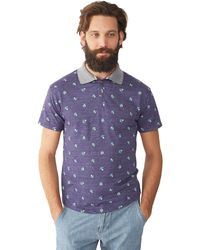 Alternative Alvarado Bouquet Polo Shirt - Lyst