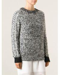 Vanessa Bruno Chunky Knit Sweater - Lyst