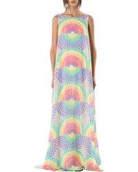 Mara Hoffman Open Back Maxi Dress multicolor - Lyst