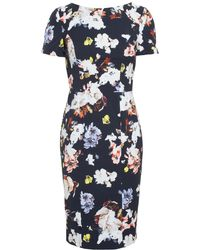 Erdem Joyce Stretch Cotton Dress - Lyst