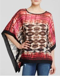 Status By Chenault - Tie Dye Poncho - Lyst