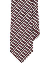 Black Fleece By Brooks Brothers - Houndstoothpattern Neck Tie - Lyst