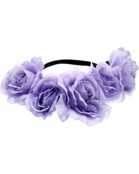 Asos Pastel Flower Hair Garland - Lyst