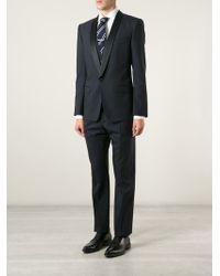 Dolce & Gabbana Three-Piece Dinner Suit - Lyst