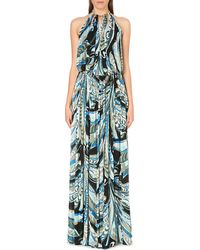 Emilio Pucci Bare Back Cut-out Gown - Lyst