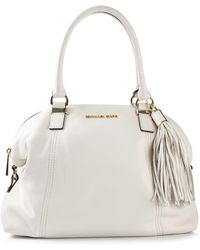 Michael by Michael Kors Tassel Shoulder Bag - Lyst
