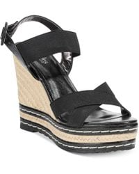 Charles By Charles David Thrice Platform Wedge Sandals - Lyst