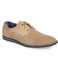 Joe's Jeans 'Boost' Perforated Suede Derby - Lyst