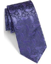 Bugatchi - Paisley Silk Tie - Lyst