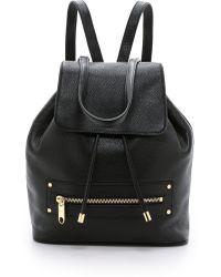 MILLY   Astor Backpack - Black   Lyst