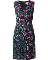 J. Mendel Sequin-Embellished Silk Dress - Lyst