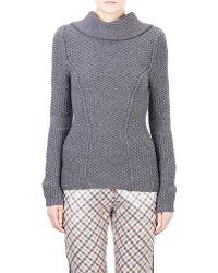 Nina Ricci Popcorn-Stitched Sweater - Lyst