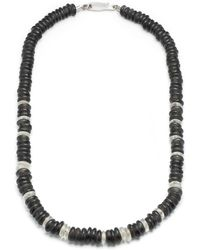 Lulu Frost | George Frost Stealth Morse Glass Bead Necklace | Lyst